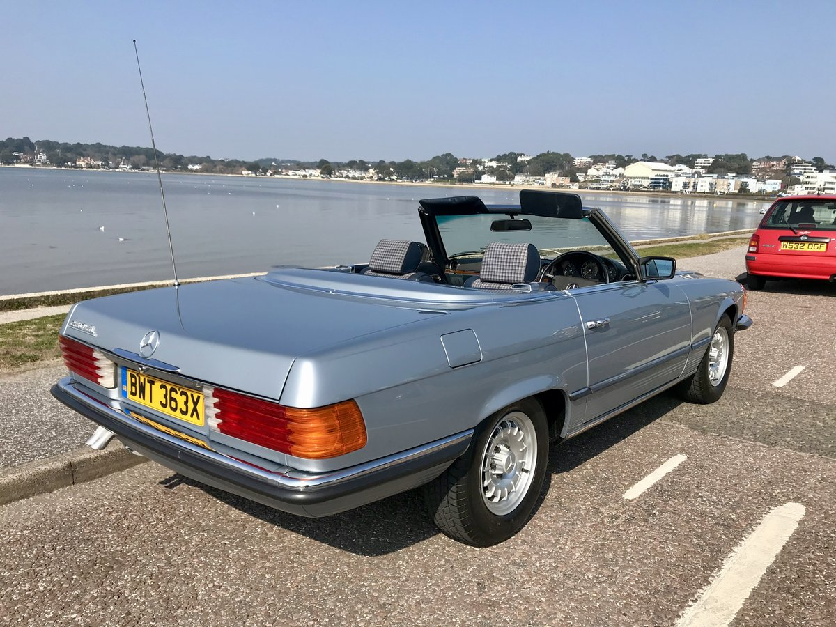 MERCEDES BENZ 280 SL - 1982 ONLY 74,000 miles FSH. SOLD (picture 2 of 6)
