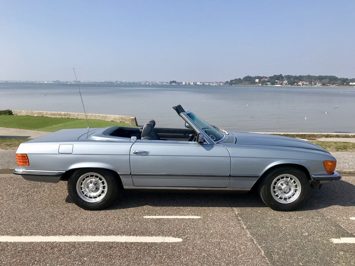 MERCEDES BENZ 280 SL - 1982 ONLY 74,000 miles FSH. SOLD (picture 3 of 6)