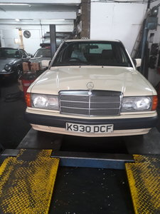 1992 Mercedes 190e 2.0 auto For Sale