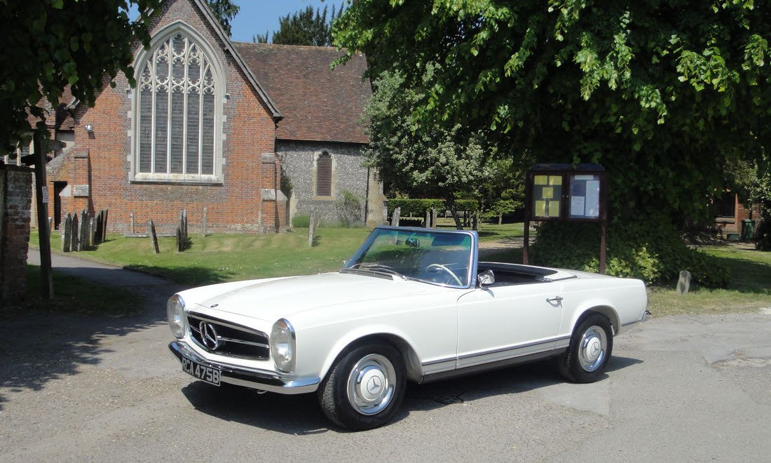 1964 MERCEDES BENZ 230SL PAGODA W113-SOLD-Similar required For Sale (picture 1 of 6)