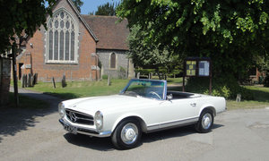 1964 MERCEDES BENZ 230SL - MANUAL For Sale