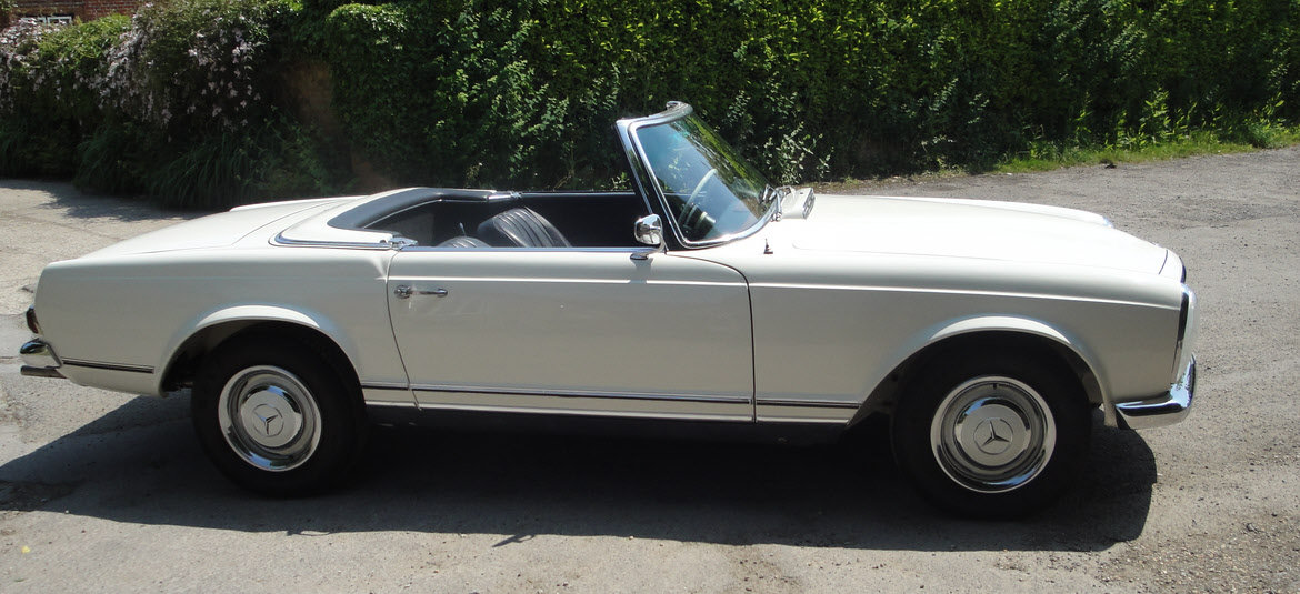 1964 MERCEDES BENZ 230SL PAGODA W113-SOLD-Similar required For Sale (picture 2 of 6)