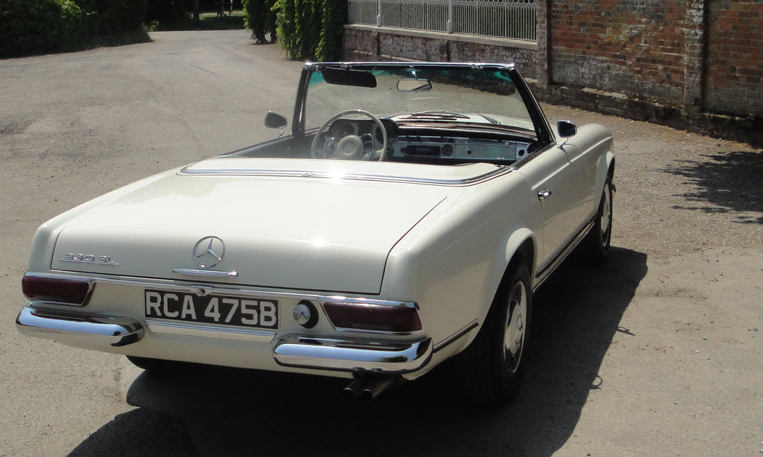 1964 MERCEDES BENZ 230SL PAGODA W113-SOLD-Similar required For Sale (picture 3 of 6)