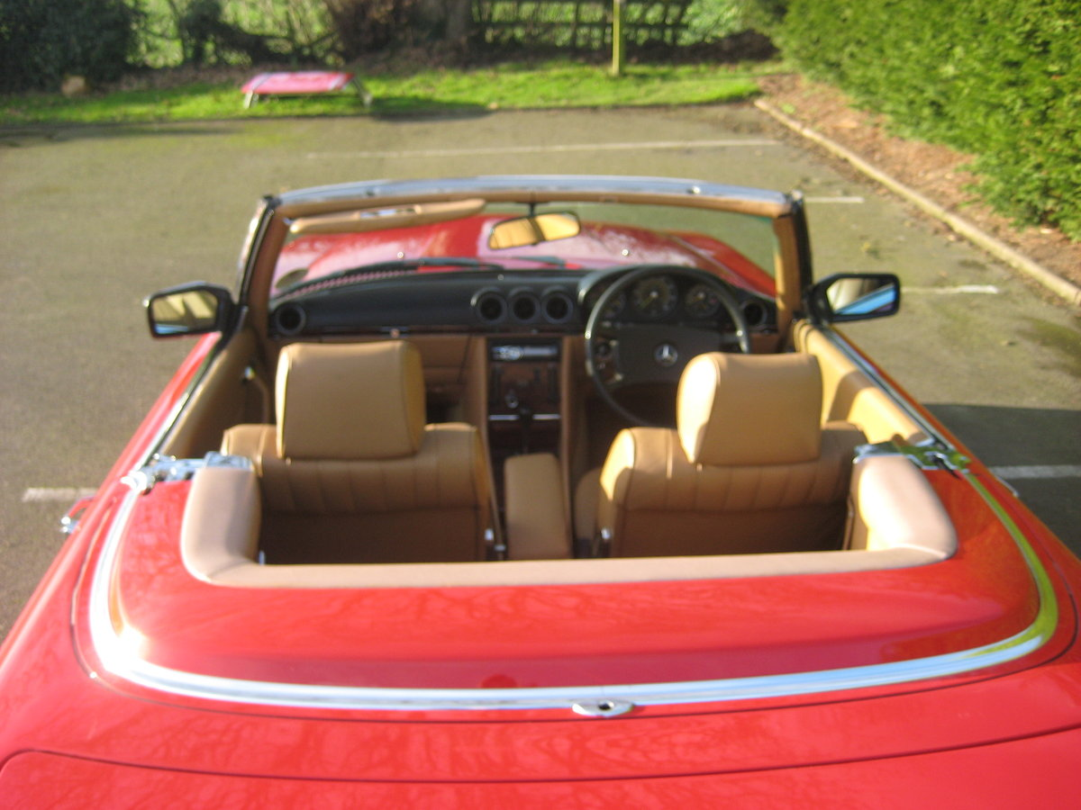 MERCEDES BENZ 280SL 1984- 6 OWNERS FROM NEW For Sale (picture 2 of 6)