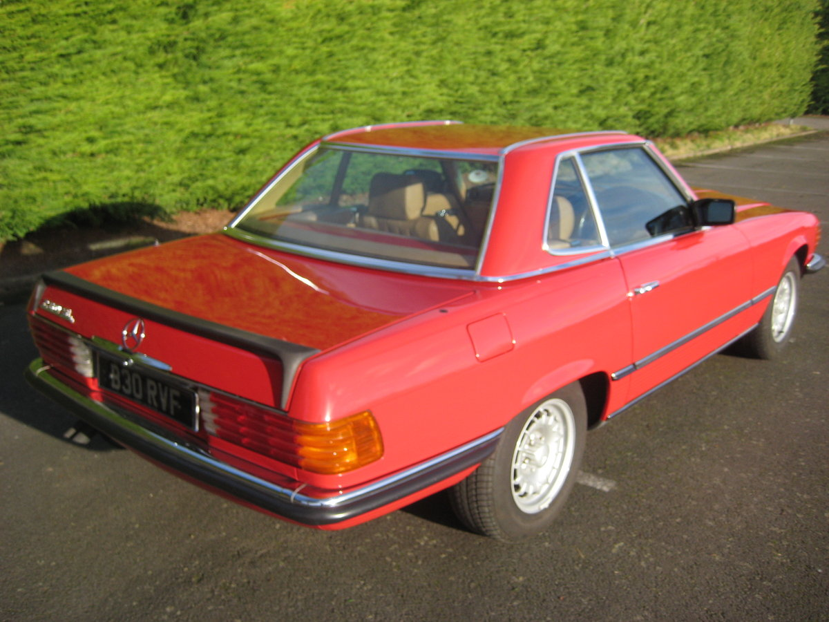 MERCEDES BENZ 280SL 1984- 6 OWNERS FROM NEW For Sale (picture 3 of 6)