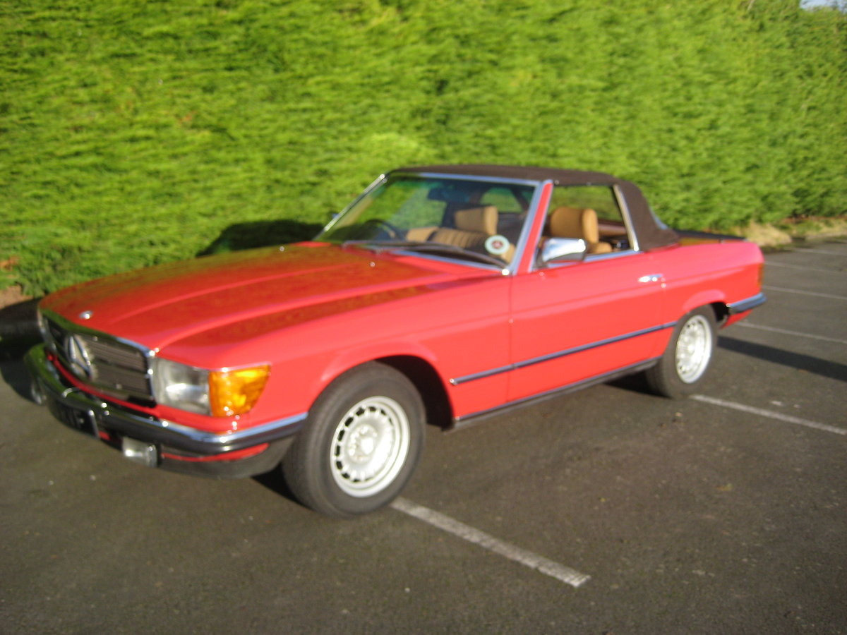 MERCEDES BENZ 280SL 1984- 6 OWNERS FROM NEW For Sale (picture 6 of 6)
