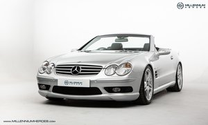 2004 MERCEDES SL55 AMG // EXCLUSIVE NAPPA LEATHER // COMFORT SEAT