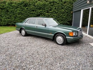 1988 Stunning Low Milage Mercedes W126 500 SEL SOLD