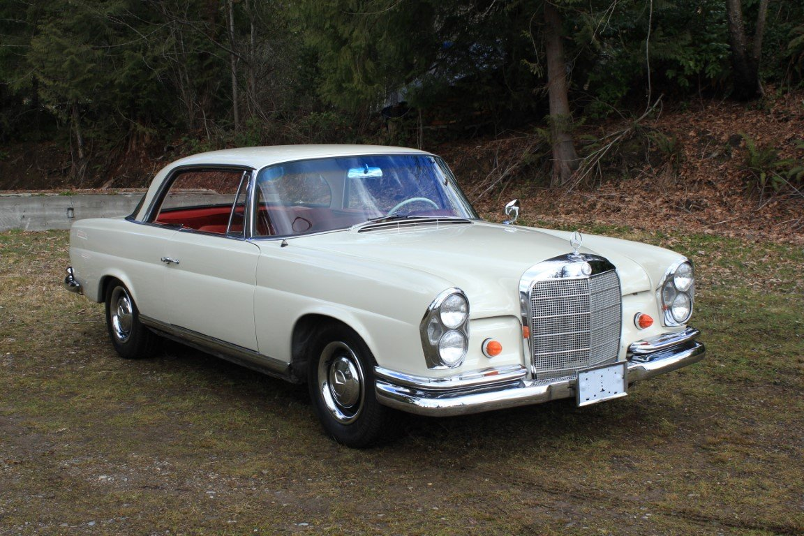 1963 Mercedes Benz 220 SE Coupe For Sale (picture 1 of 6)