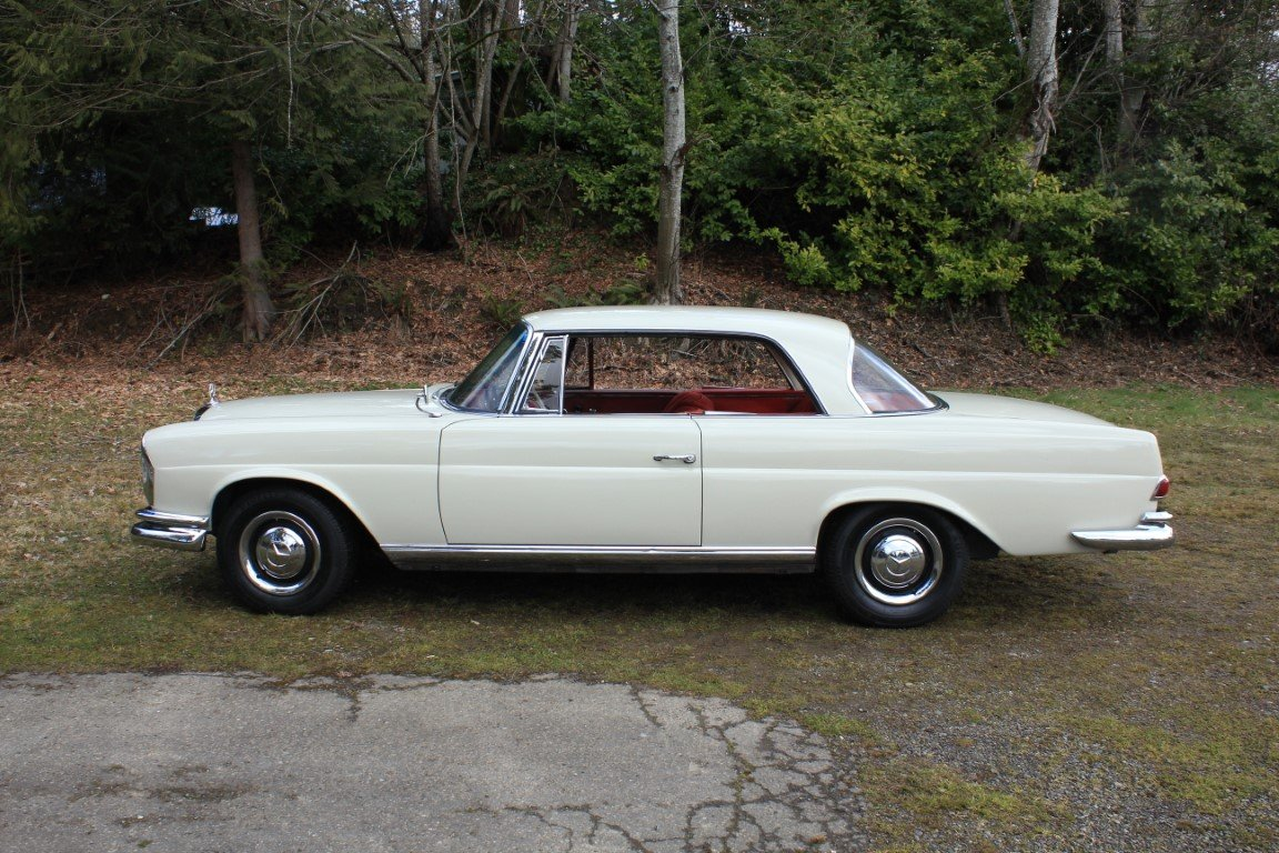 1963 Mercedes Benz 220 SE Coupe For Sale (picture 3 of 6)