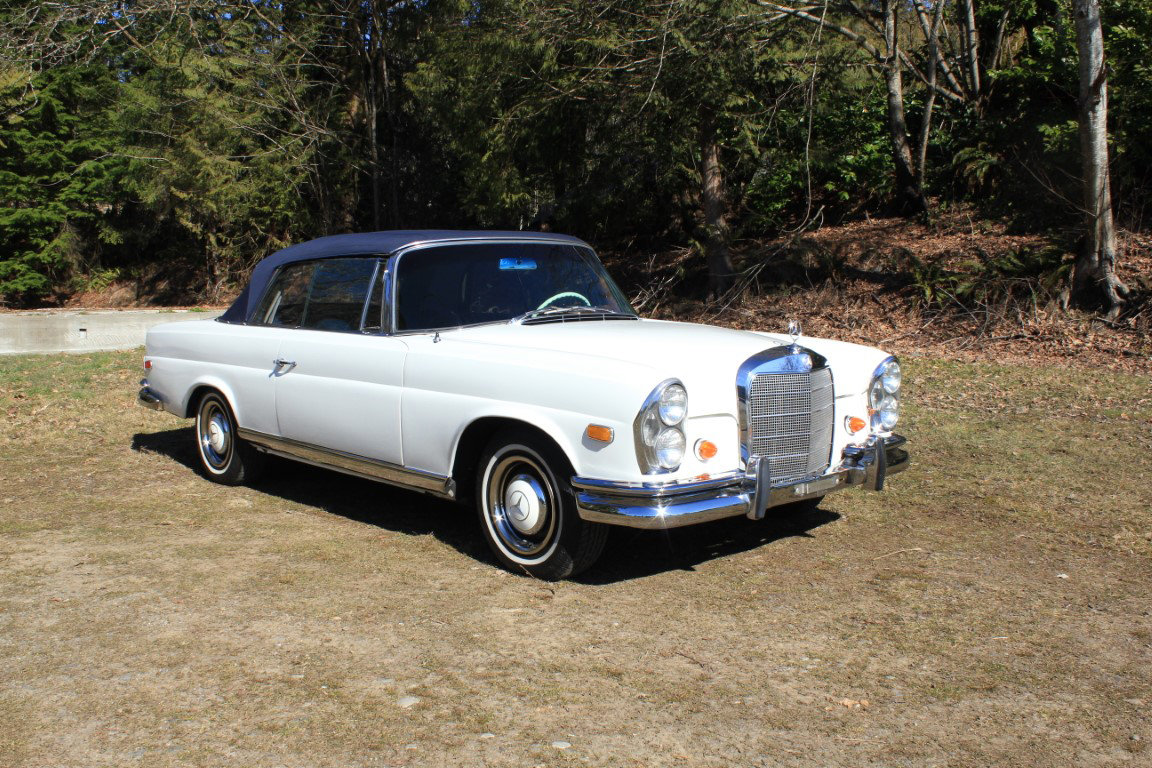 1966 Mercedes Benz 250 SE Cabriolet  For Sale by Auction (picture 1 of 6)