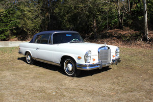 1966 Mercedes Benz 250 SE Cabriolet  For Sale by Auction