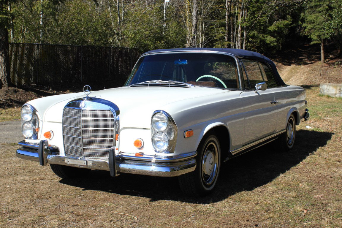 1966 Mercedes Benz 250 SE Cabriolet  For Sale by Auction (picture 2 of 6)