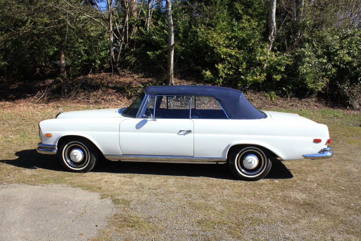 1966 Mercedes Benz 250 SE Cabriolet  For Sale by Auction (picture 3 of 6)