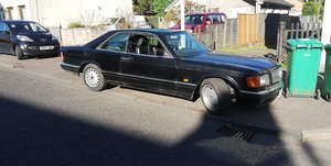 1986 Mercedes 500 sec W126 For Sale