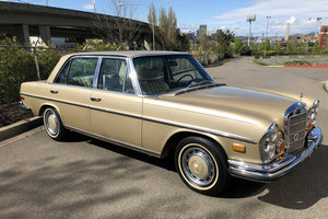 1972 Mercedes 300 SEL 4.5 Liter NO RESERVE For Sale by Auction