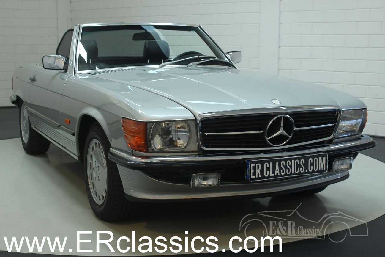 Mercedes Benz 300SL cabriolet 1986 Top maintained For Sale (picture 1 of 6)