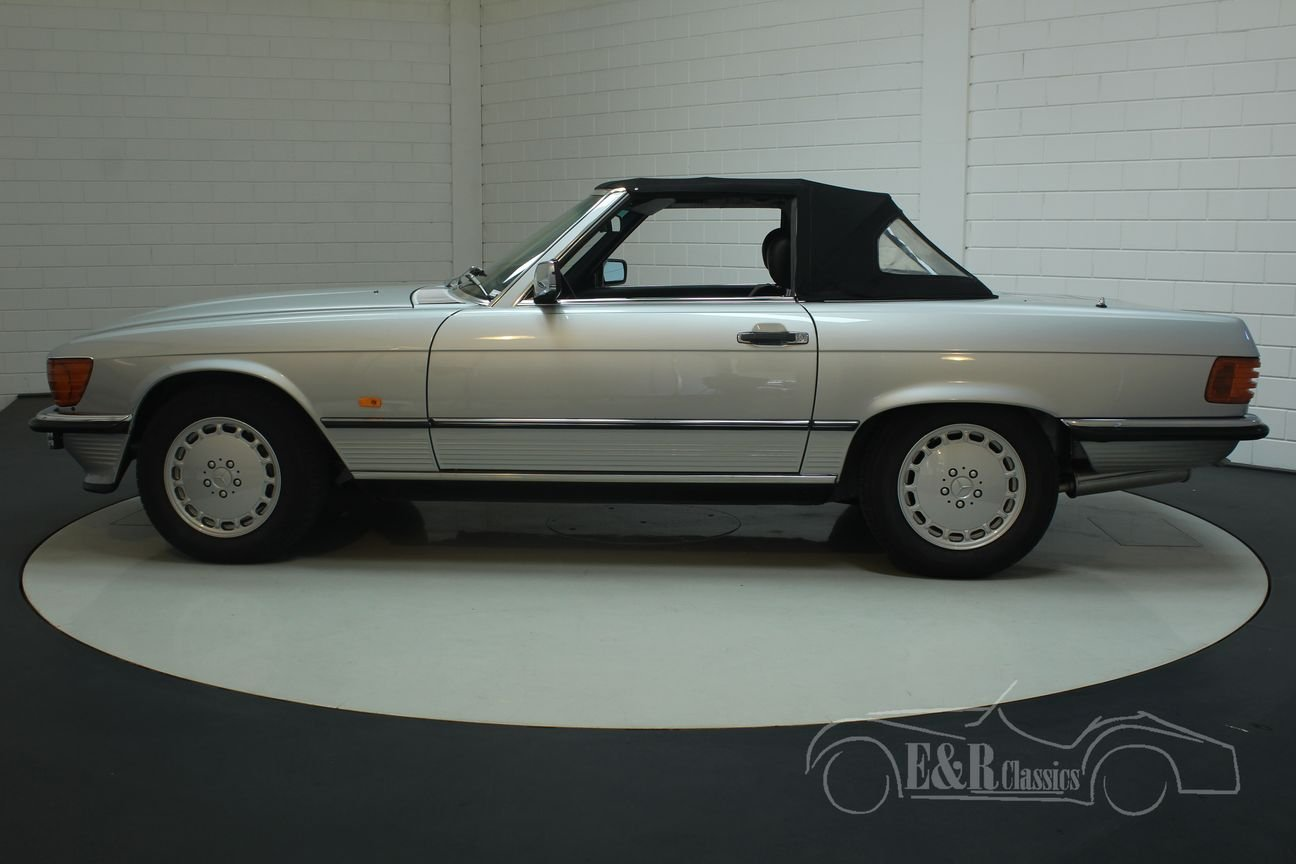 Mercedes Benz 300SL cabriolet 1986 Top maintained For Sale (picture 5 of 6)