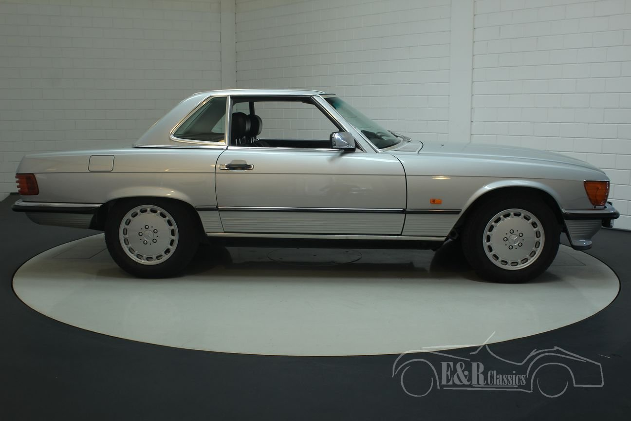 Mercedes Benz 300SL cabriolet 1986 Top maintained For Sale (picture 6 of 6)