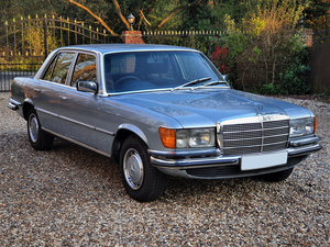 1980 Show Standard Mercedes 280SE W116 - 1 Family Owner For Sale