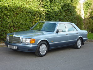 1990 Mercedes 500SE, 82K Superb Condition For Sale