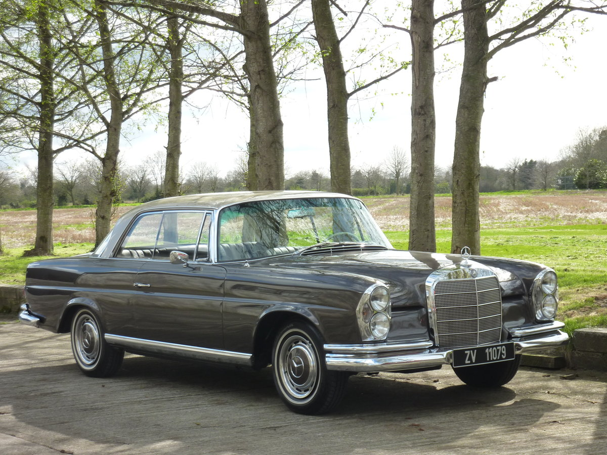 1965 Mercedes W111 Coupe CONCOURS condition For Sale (picture 5 of 6)