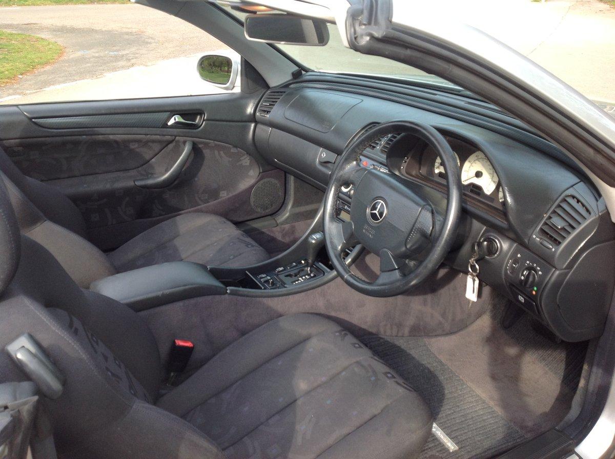 1998 MERCEDES CLK SPORT 230 KOMPRESSOR CONVERTIBLE 64000 FSH AUTO For Sale (picture 6 of 6)