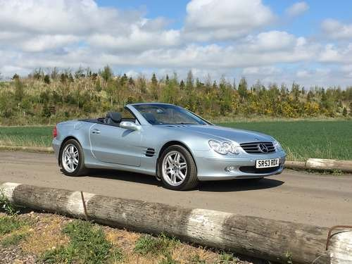 2004 Mercedes SL500 With 25k Miles at Morris Leslie 25th May SOLD by Auction (picture 1 of 6)