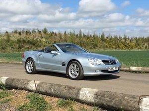 2004 Mercedes SL500 With 25k Miles at Morris Leslie 25th May SOLD by Auction