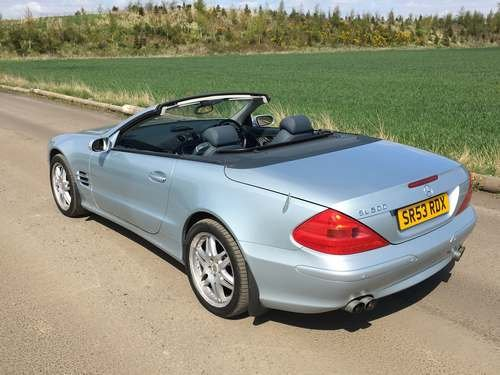 2004 Mercedes SL500 With 25k Miles at Morris Leslie 25th May SOLD by Auction (picture 2 of 6)