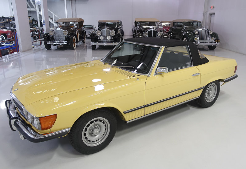 1973 Mercedes-Benz 450SL Roadster For Sale (picture 3 of 6)