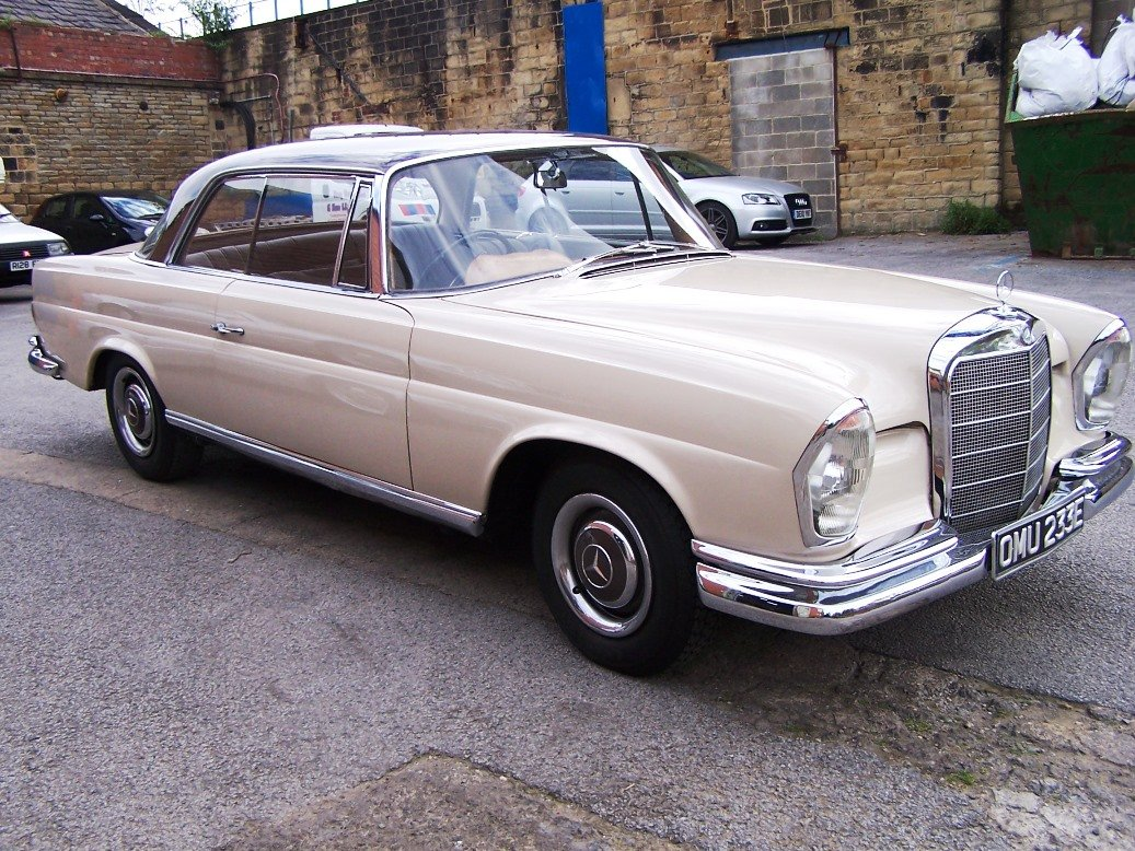 1967 Mercedes-Benz 250SEB Coupe (W111) For Sale (picture 1 of 6)