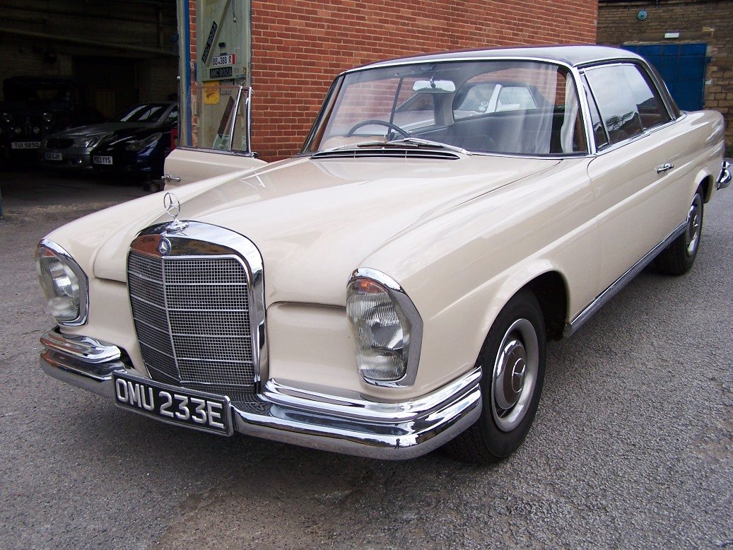 1967 Mercedes-Benz 250SEB Coupe (W111) For Sale (picture 2 of 6)