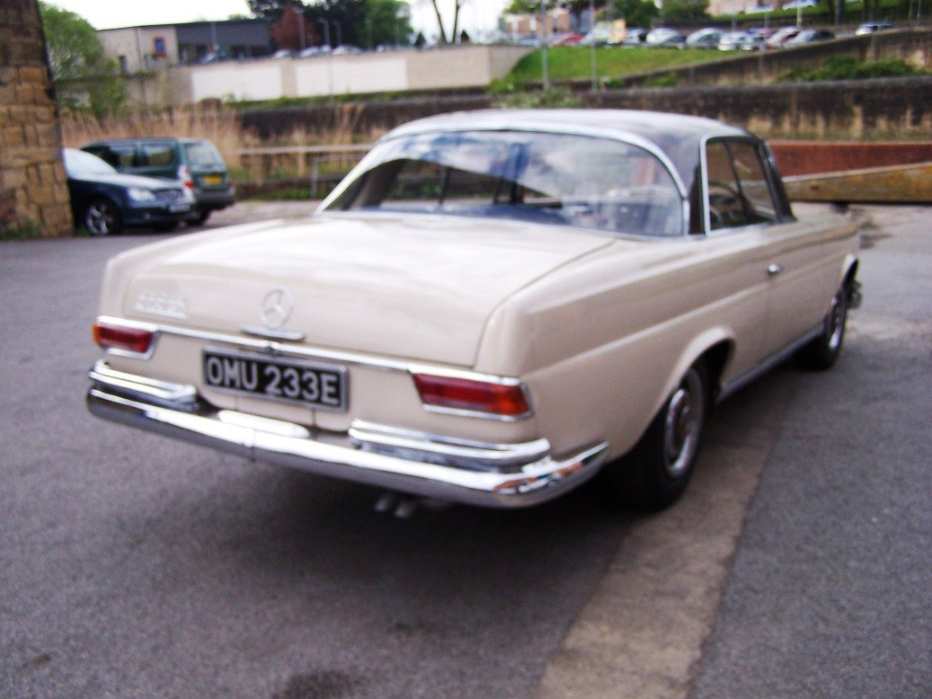 1967 Mercedes-Benz 250SEB Coupe (W111) For Sale (picture 4 of 6)