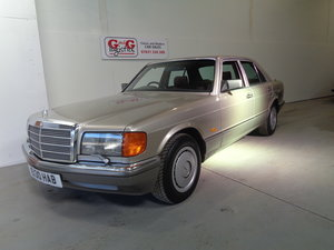 1987 MERCEDES 300 SE - 77K FSH - LOVELY CAR !!
