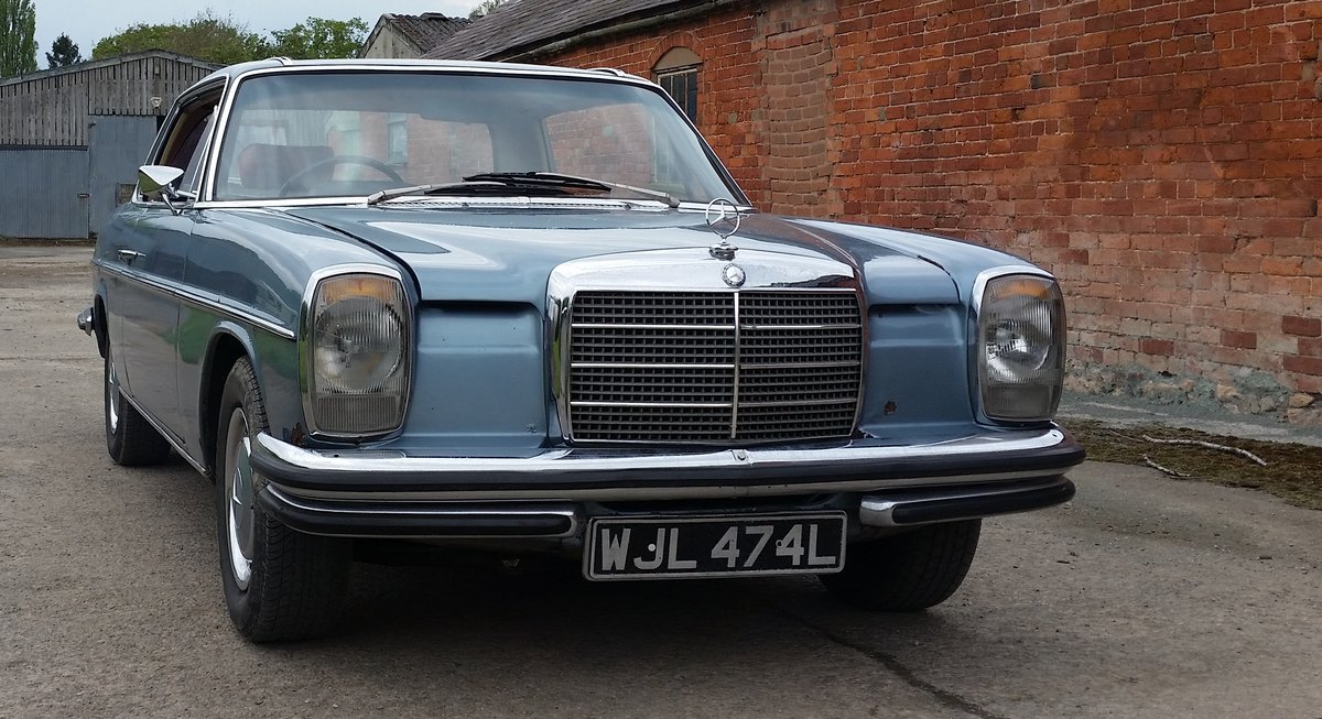 1972 Mercedes Pillarless Coupe Rarest W114 280 CE For Sale (picture 1 of 6)