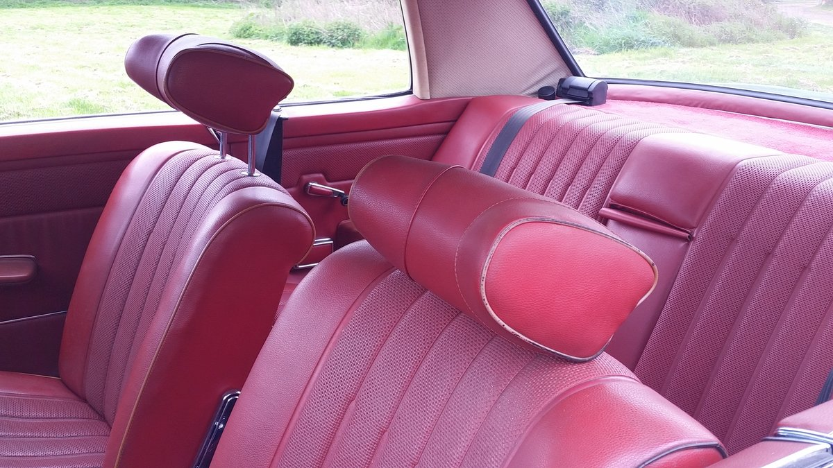 1972 Mercedes Pillarless Coupe Rarest W114 280 CE For Sale (picture 5 of 6)