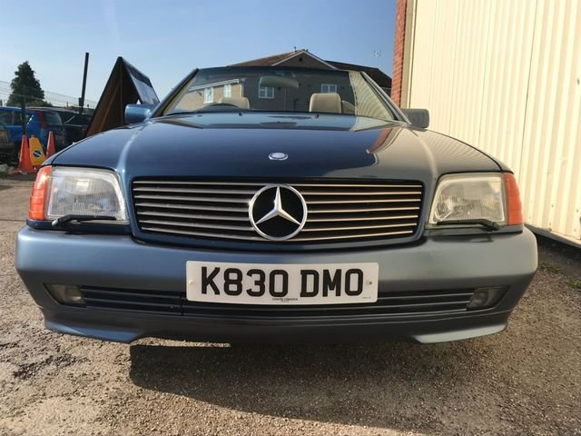 1993 Mercedes Benz SL 320 For Sale (picture 3 of 6)
