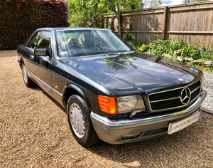 1992/J - Mercedes 420SEC C126 coupe. 560SEC 500 SEC For Sale