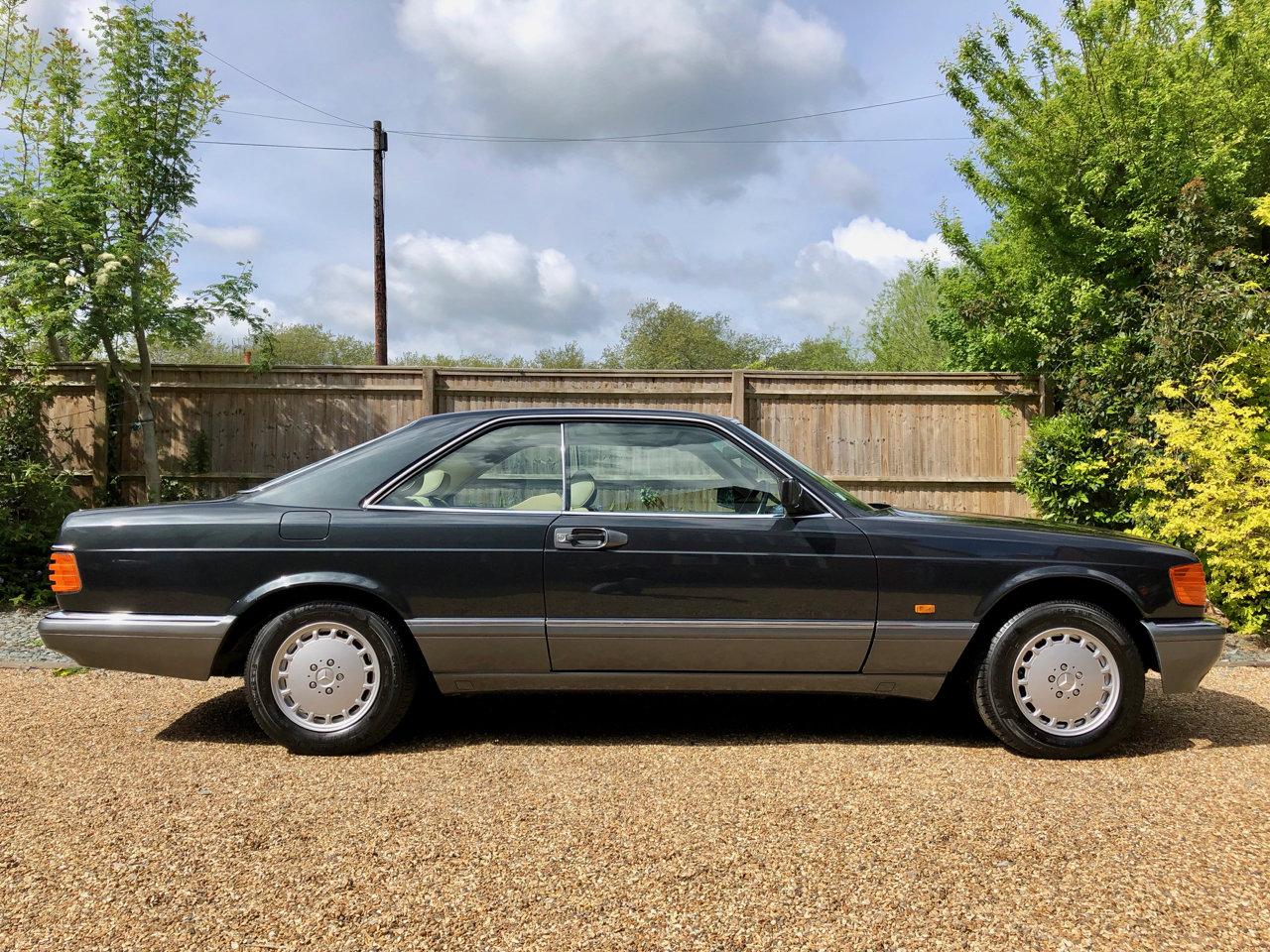 1992/J - Mercedes 420SEC C126 *SOLD* 560SEC 500 SEC For Sale (picture 2 of 6)