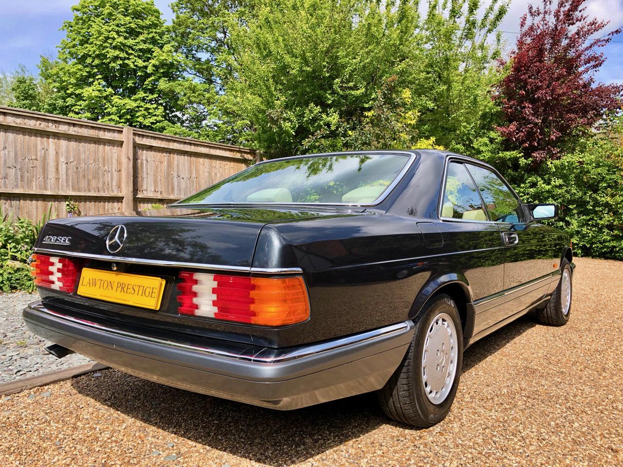 1992/J - Mercedes 420SEC C126 *SOLD* 560SEC 500 SEC For Sale (picture 3 of 6)