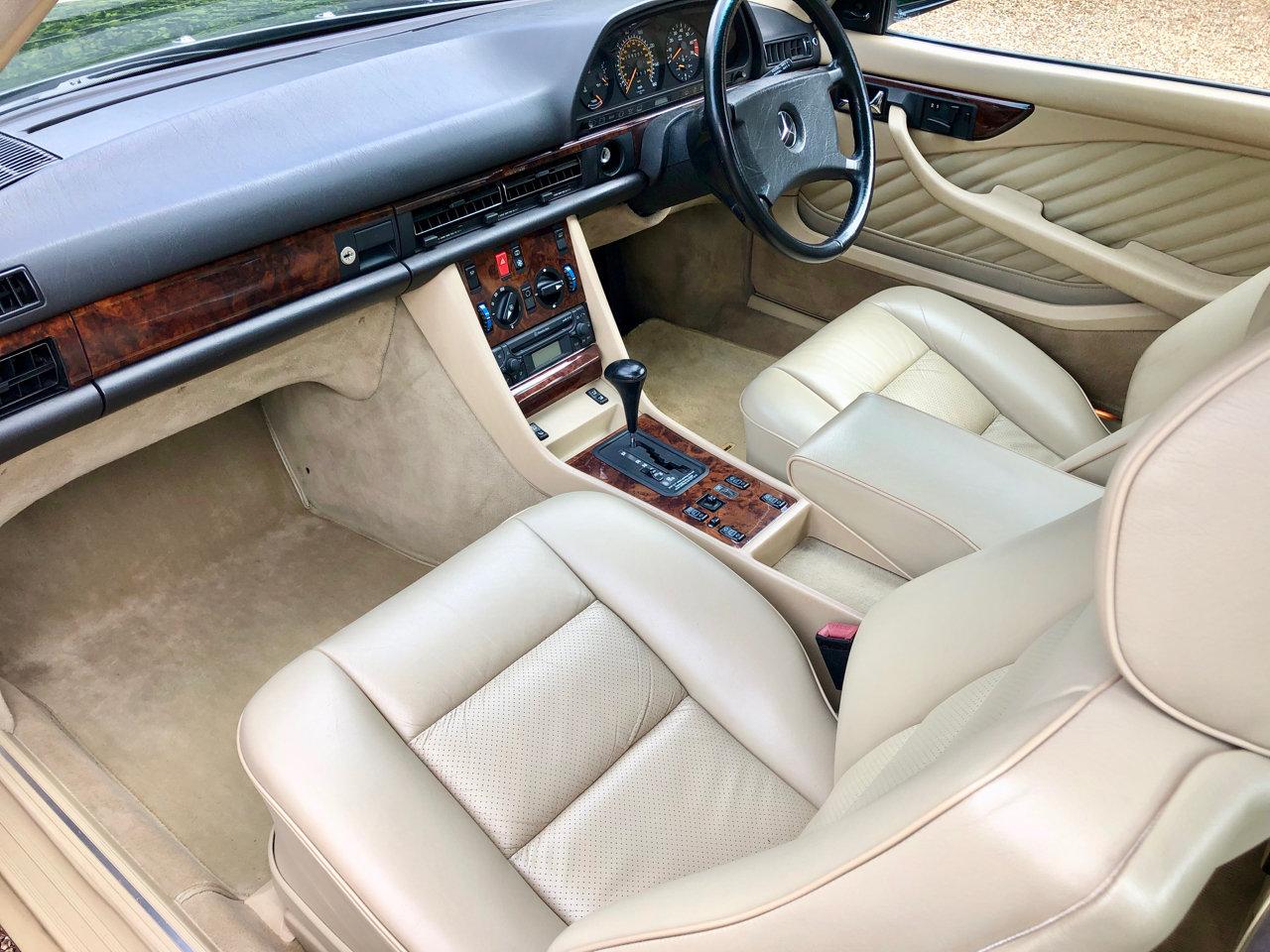 1992/J - Mercedes 420SEC C126 *SOLD* 560SEC 500 SEC For Sale (picture 4 of 6)