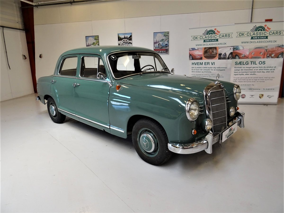 1956 Mercedes-Benz 190 Sedan (W121 Ponton) For Sale (picture 1 of 6)