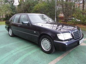 1999 Mercedes S320 Auto at Morris Leslie Auction 25th May SOLD by Auction