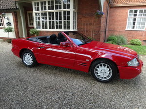 1997 MERCEDES SL 320 CONVERTIBLE For Sale