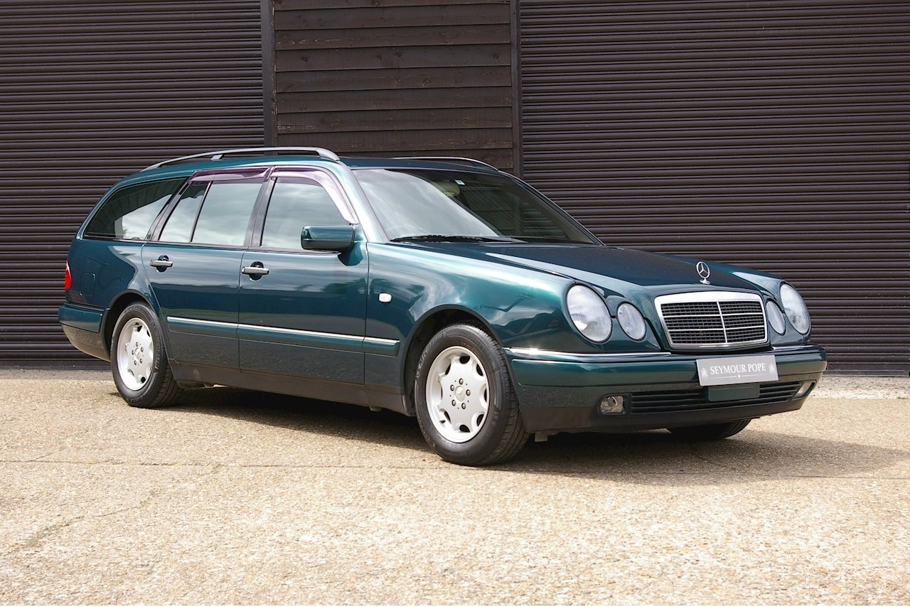 1997 Mercedes W210 E230 Elegance Estate 7 Auto (32,856 miles)  SOLD (picture 1 of 6)