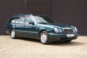 1997 Mercedes W210 E230 Elegance Estate 7 Auto (32,856 miles)  For Sale