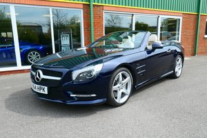 2015 Mercedes SL400 with 13,000 miles only SOLD
