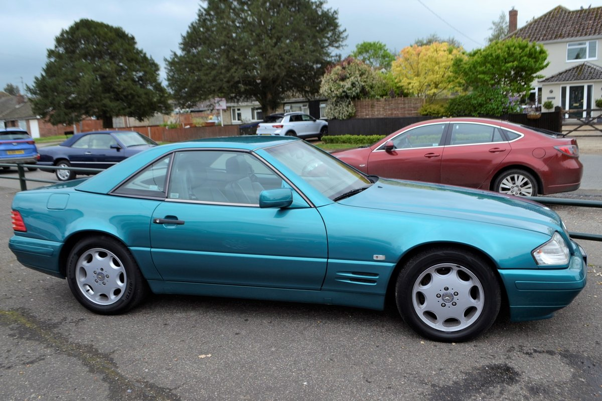 1997 Mercedes SL 280 + hard and soft top For Sale (picture 1 of 16)