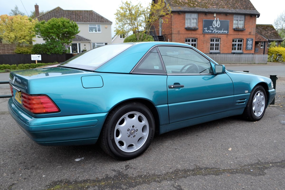 1997 Mercedes SL 280 + hard and soft top For Sale (picture 2 of 12)